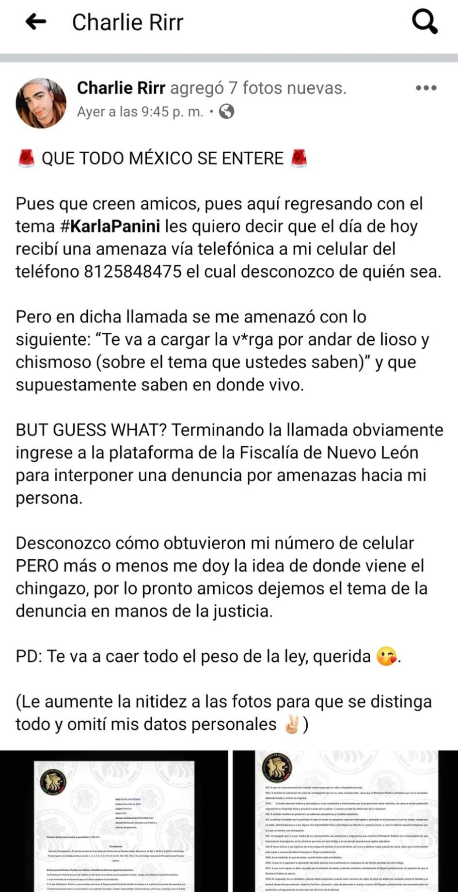 """Y en """"Fíjate Paty"""": El chisme sobre las supuestas amenazas de Karla Panini a Piñatería Ramirez"""