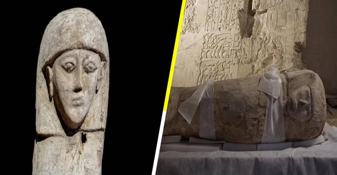 Arqueólogos descubren momia de hace 3,600 años en Egipto