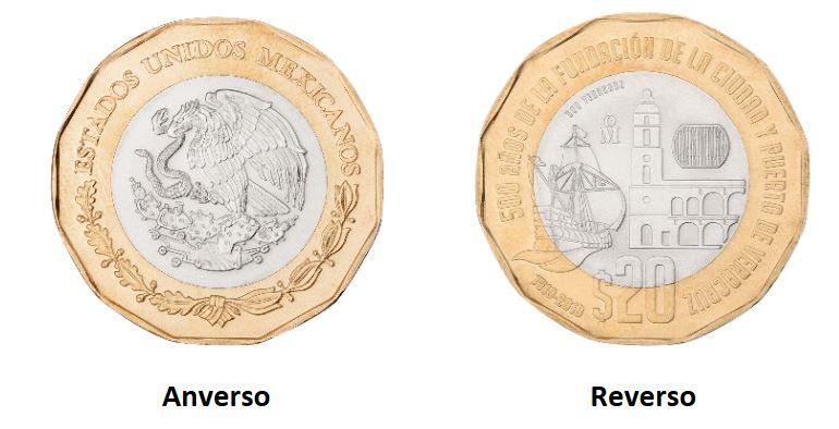 moneda-20-pesos-veracruz-banxico