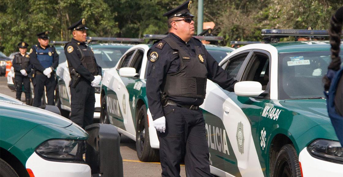 policías de la SSC-CDMX