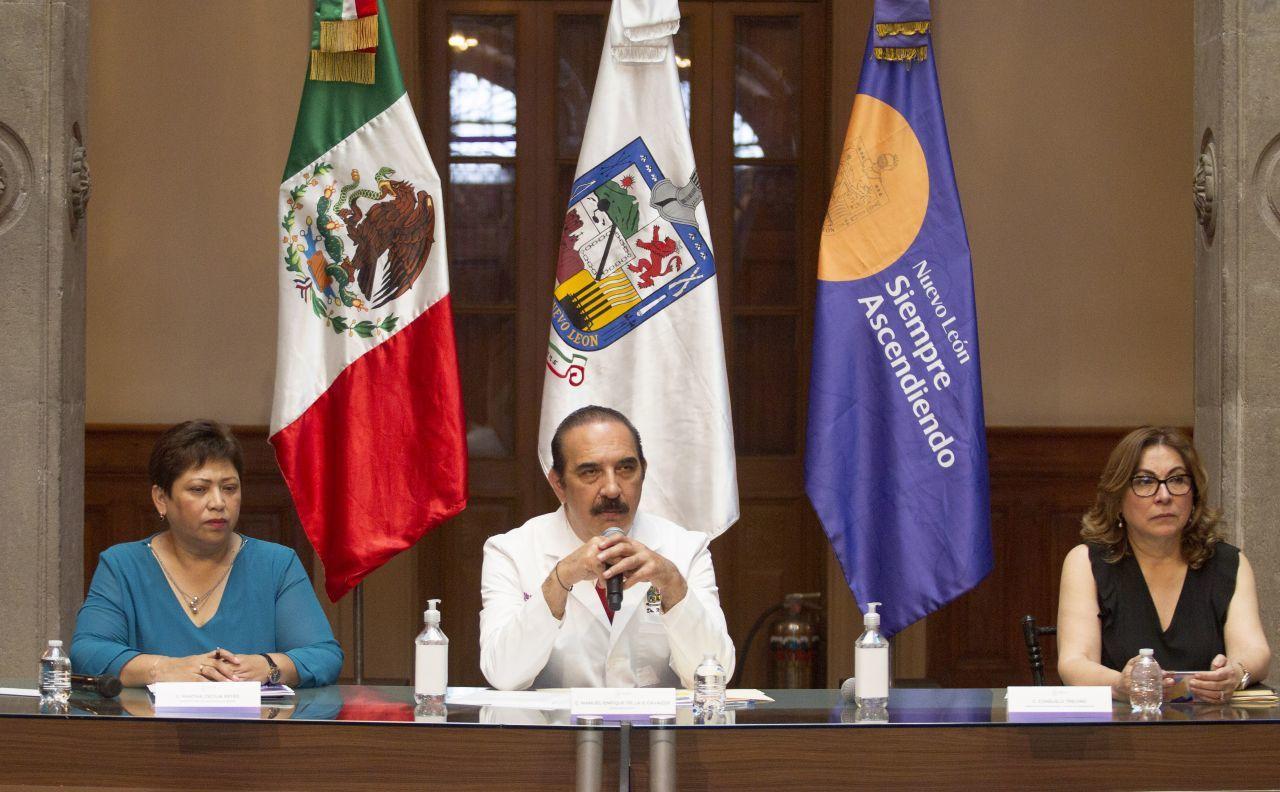 titular Salud, Nuevo León