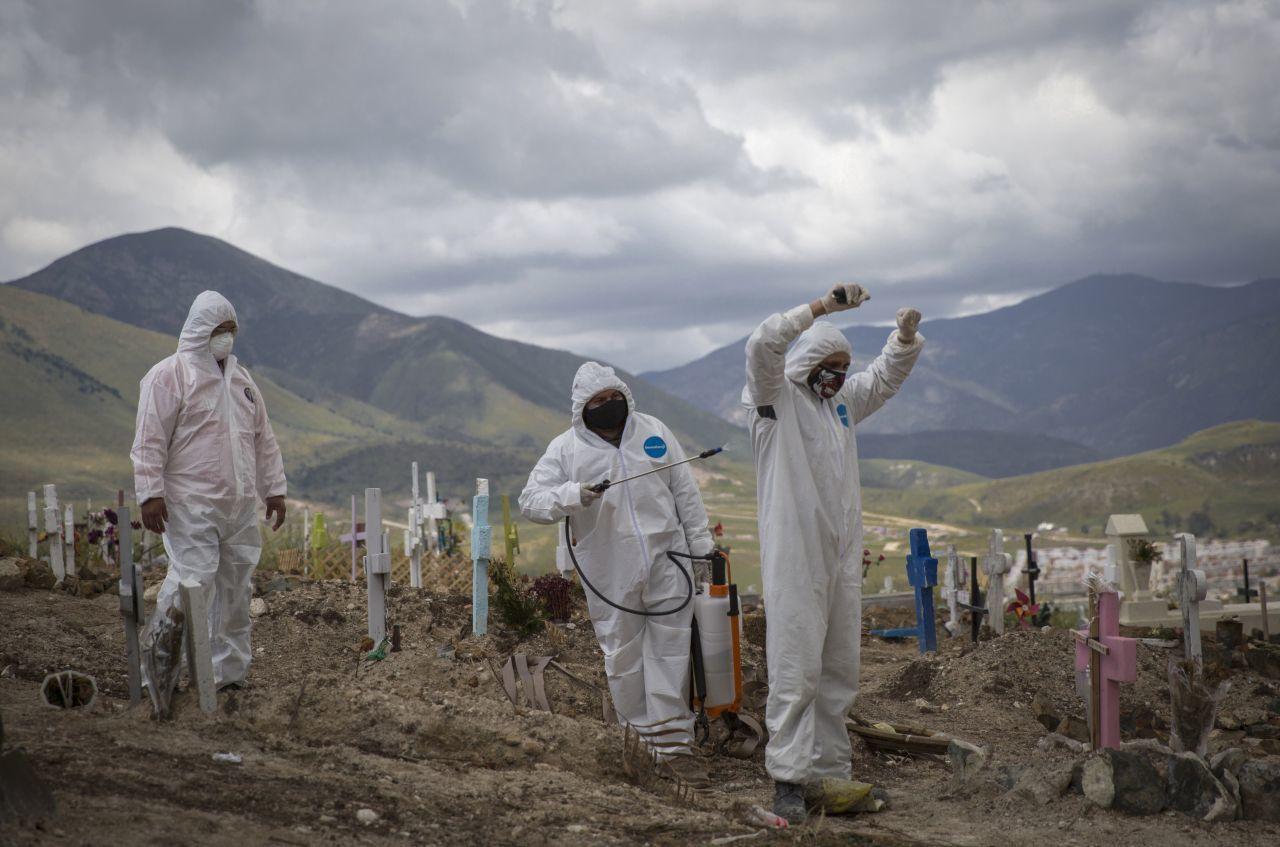 sepultura de fallecidos por coronavirus