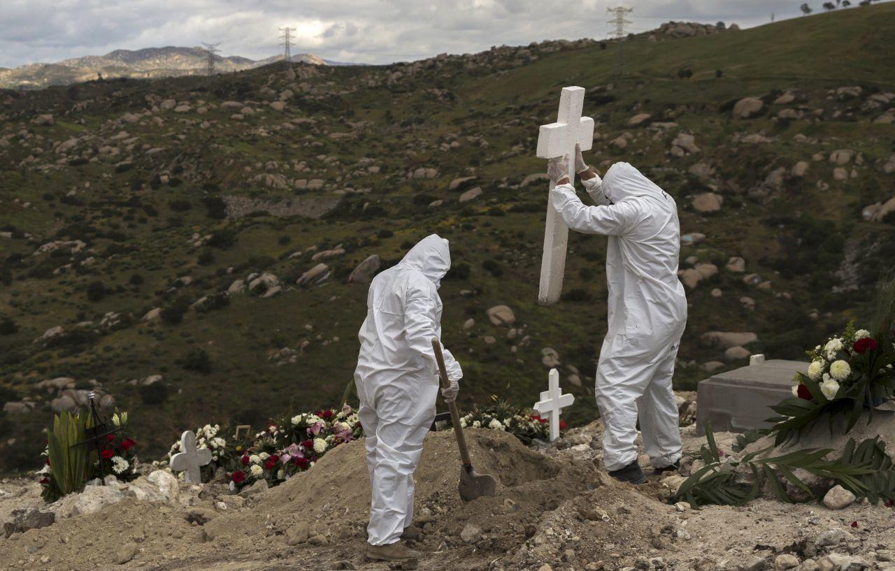Cementerios COVID-19 Tijuana