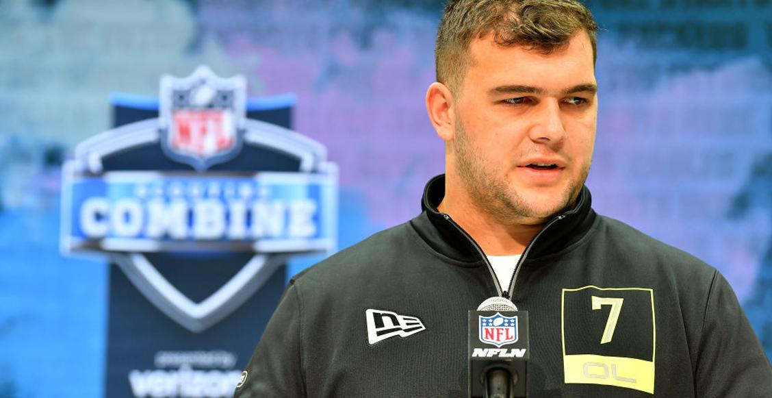 Ravens se llevan del draft a Ben Bredeson, el prospecto que recibió 17 becas para jugar futbol americano