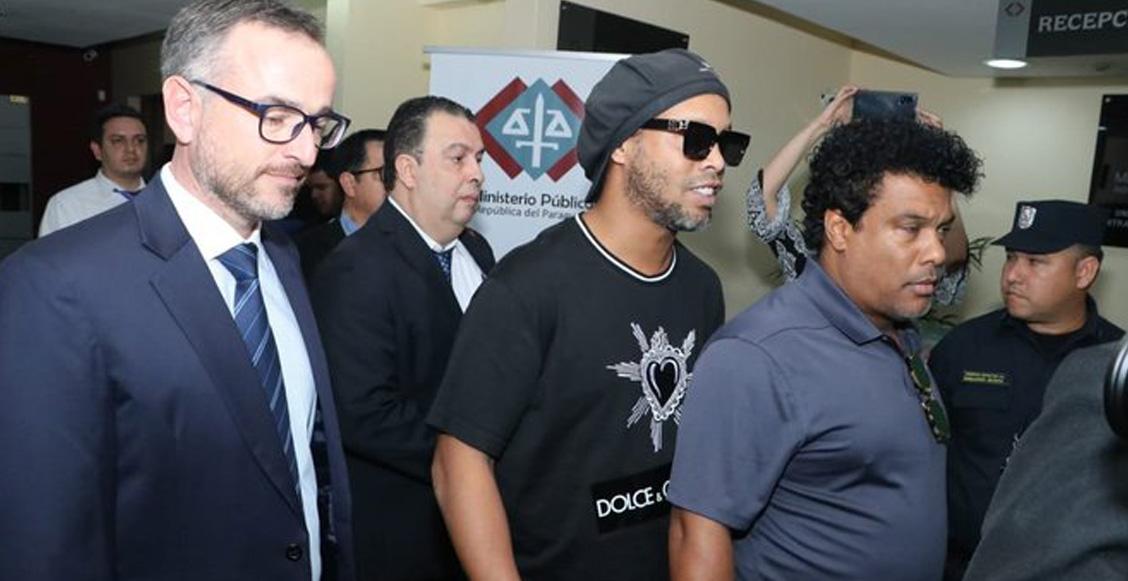 """""""Ya quiero que todo acabe"""": Ronaldinho rompió el silencio tras ser detenido en Paraguay"""