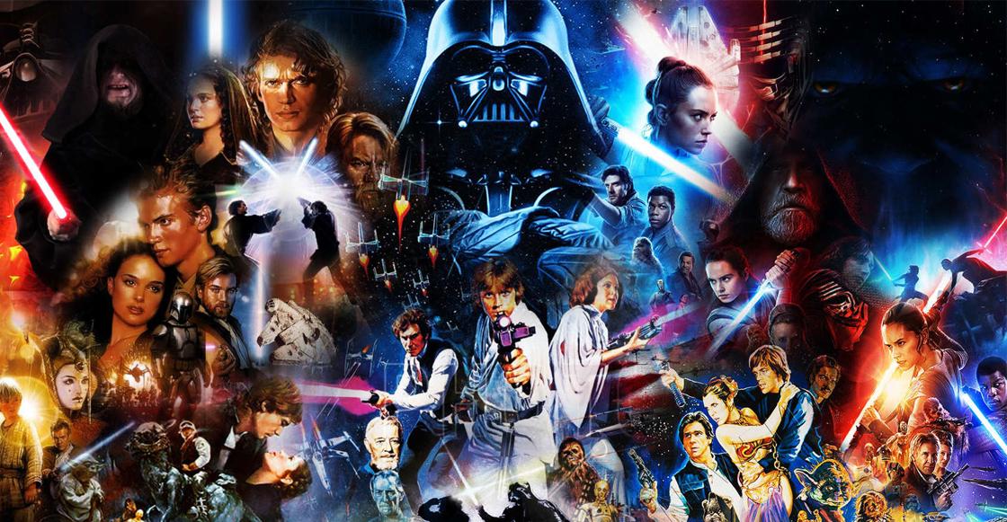 ¡la saga completa de 'star wars' ya está disponible en