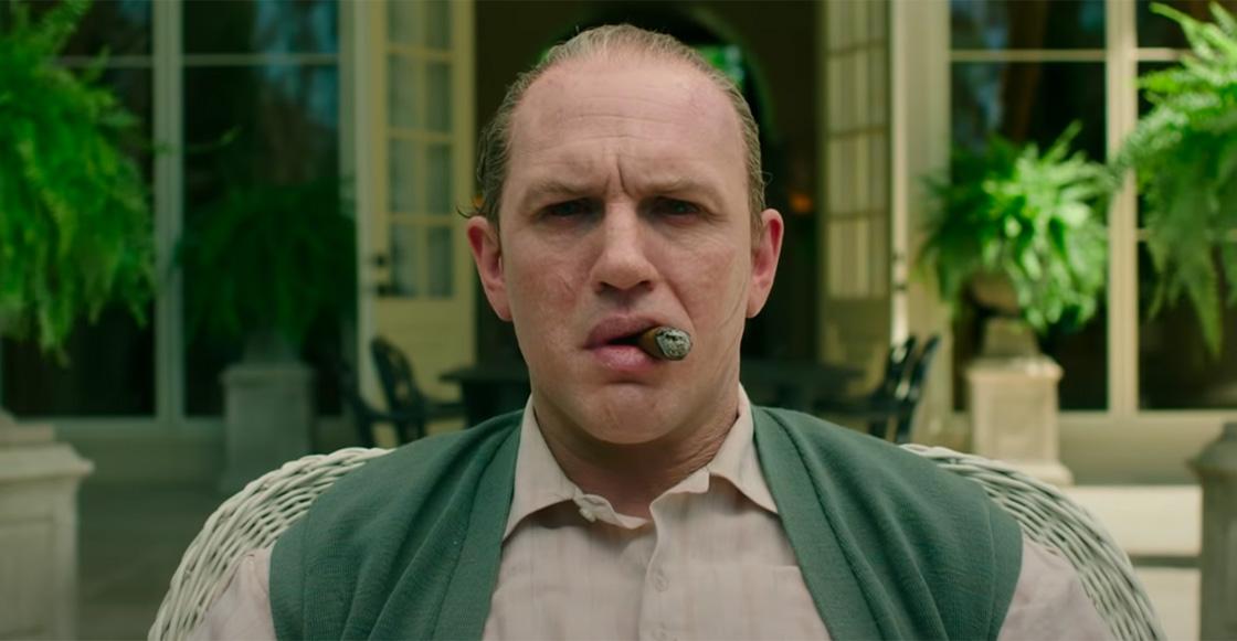 ¡Irreconocible! Así luce Tom Hardy como Al Capone en el tráiler de 'Capone'