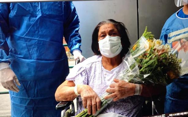 Abuelita de 84 años venció al coronavirus en Nuevo León