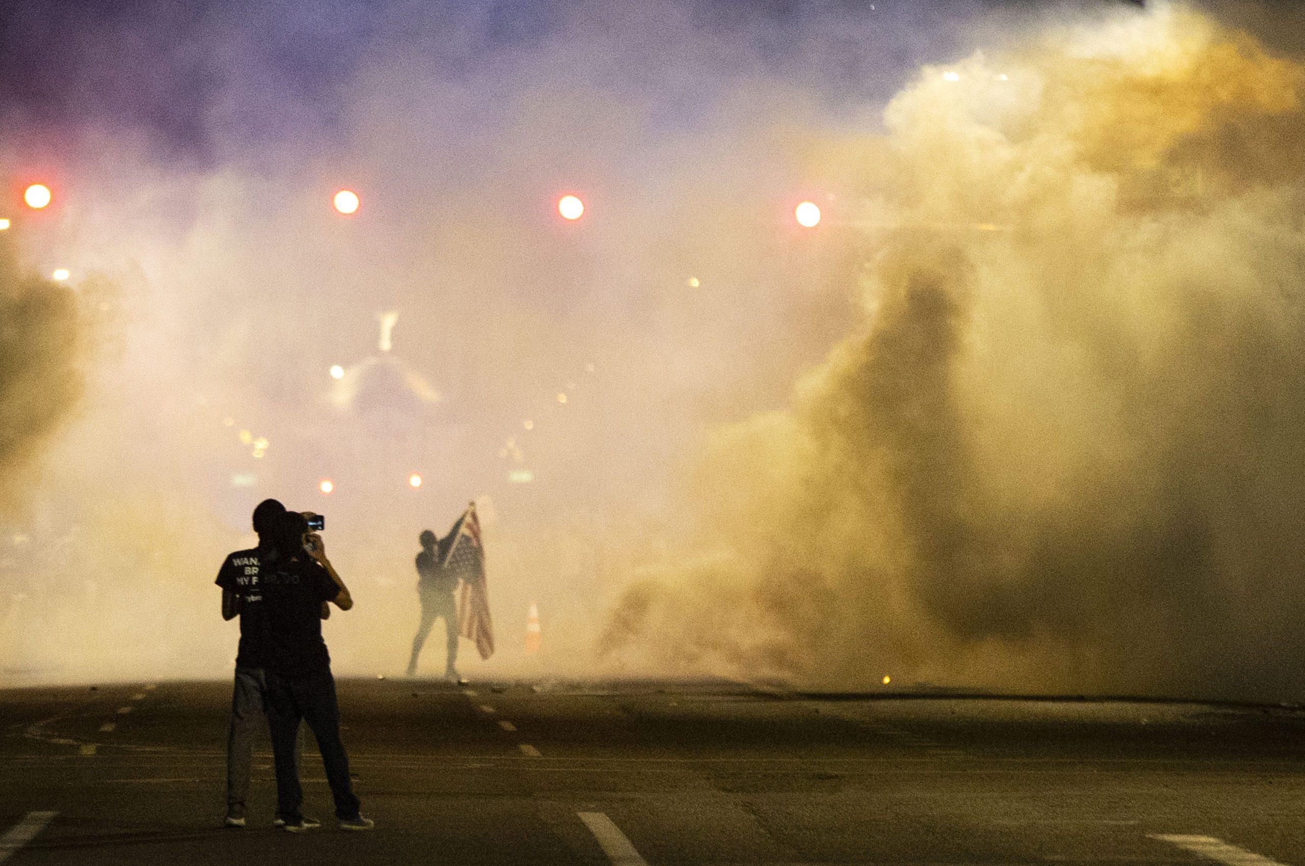 El retrato de América'; las impactantes fotos de la prensa en EU en medio de las protestas