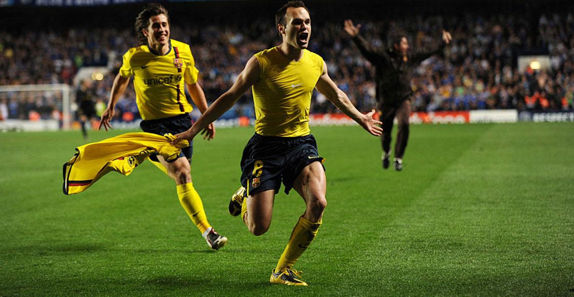 A 11 años del 'Iniestazo': El día que Andrés Iniesta conquistó Stamford Bridge