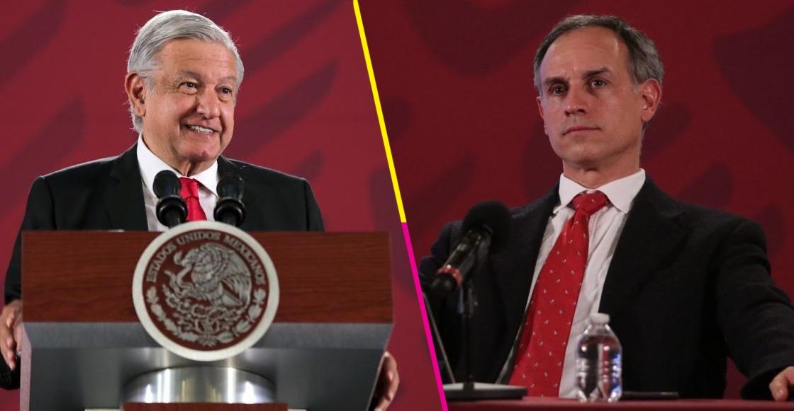 López Gatell y AMLO