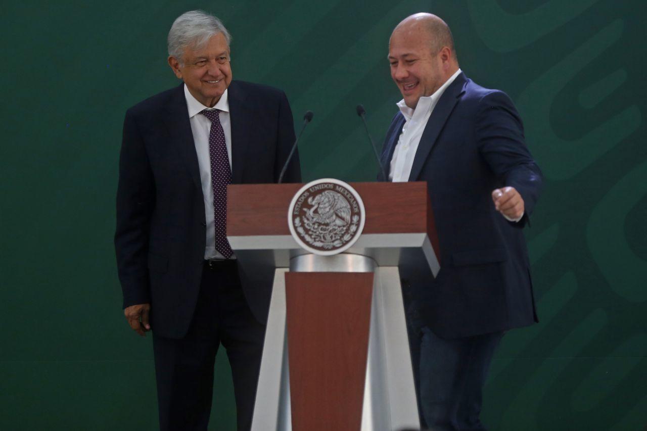 Enrique Alfaro y AMLO