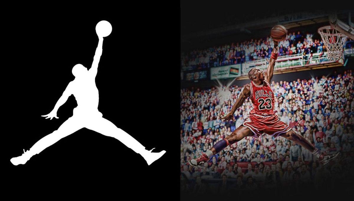 Logo de Air Jordan los tenis de Michael Jordan