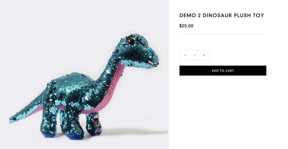 Dinosaurio de Peluche de Space X