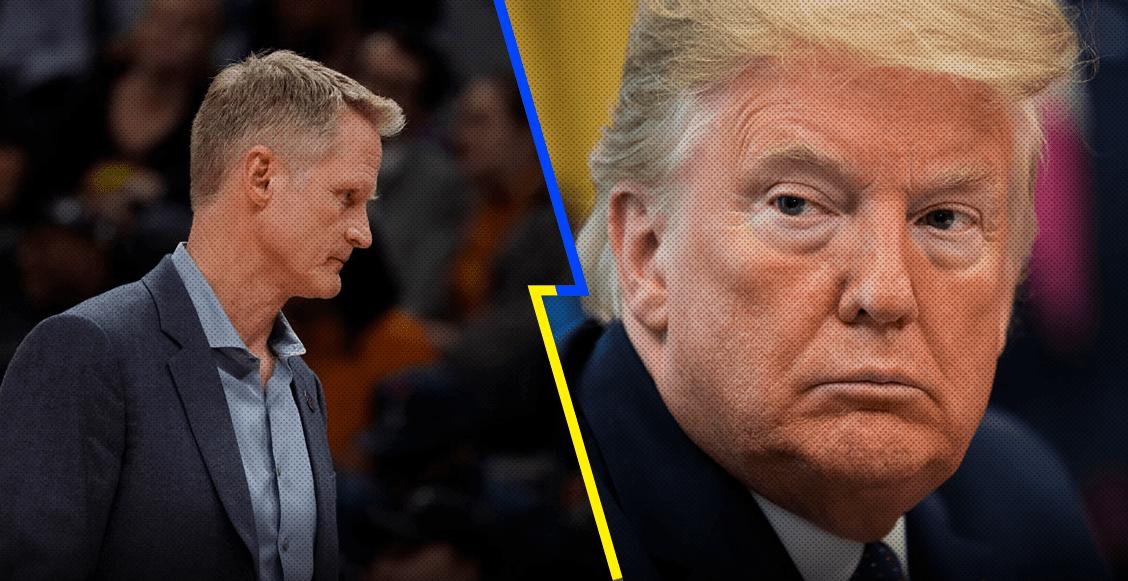 """""""No se debe permitir que los racistas sean presidentes"""": El duro mensaje de Steve Kerr contra Trump"""