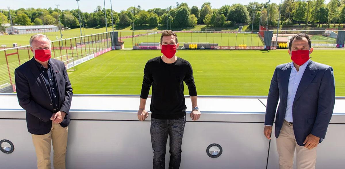 Está de vuelta: Bayern Múnich anunció el regreso de Miroslav Klose