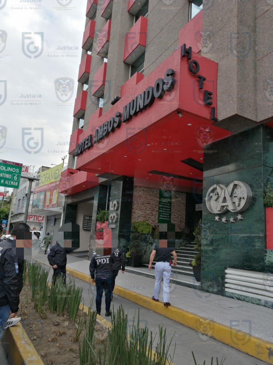 rescata de personal médico en Tacubaya