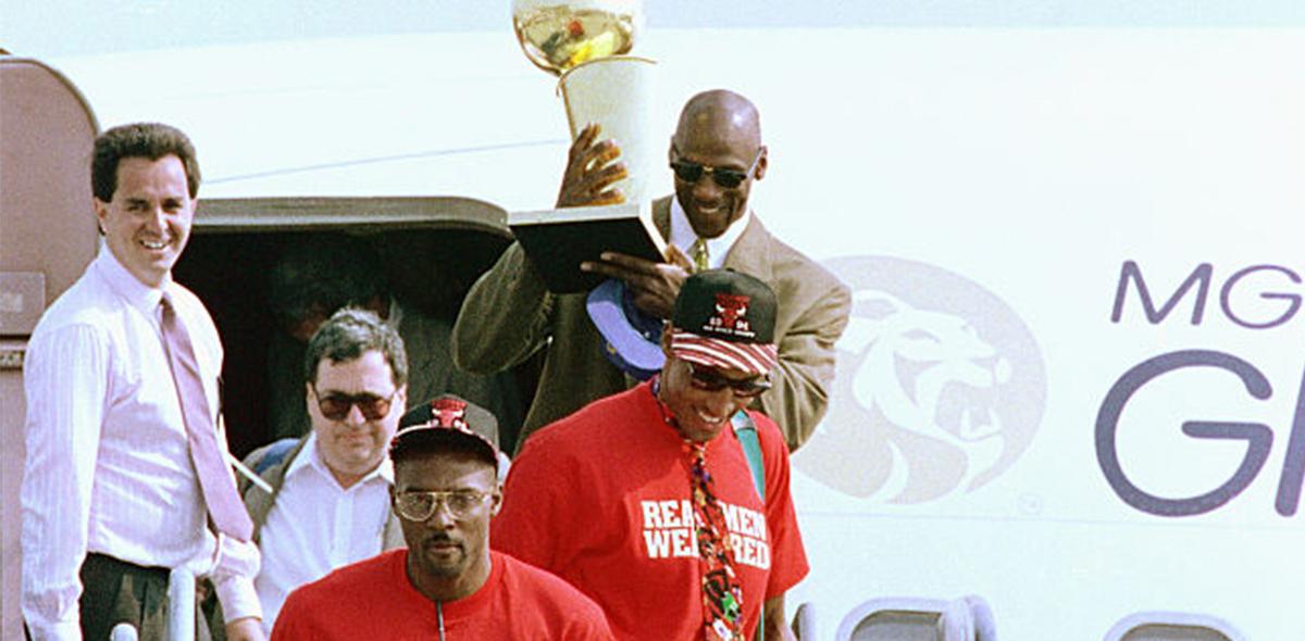 """Horace Grant llamó mentiroso a Michael Jordan y lo retó a """"arreglarlo como hombres"""""""
