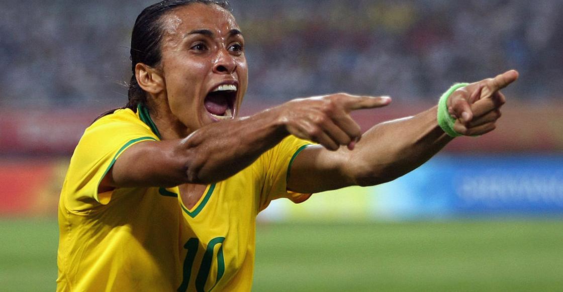 Ellas: Marta, la futbolista 'ignorada' que se convirtió en la mejor del mundo