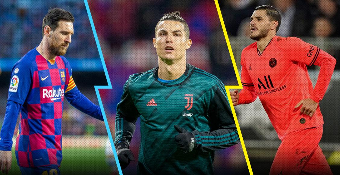 Cristiano, Messi, Icardi: Revelan a los 10 futbolistas más buscados en un sitio porno