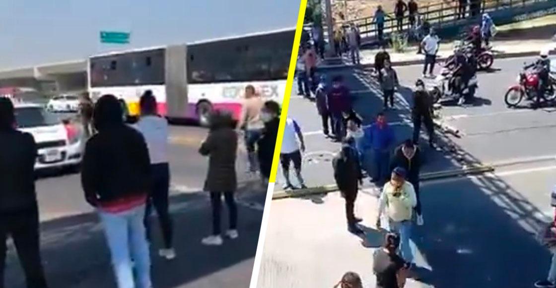 Familiares de pacientes del Hospital Las Américas en Ecatepec bloquearon Avenida Central