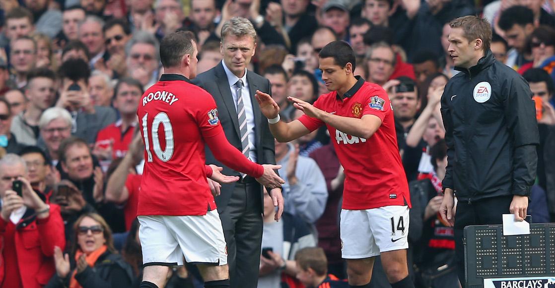 """'Chicharito' le surte bien y bonito a David Moyes: """"Fue el primer error del Manchester United"""""""