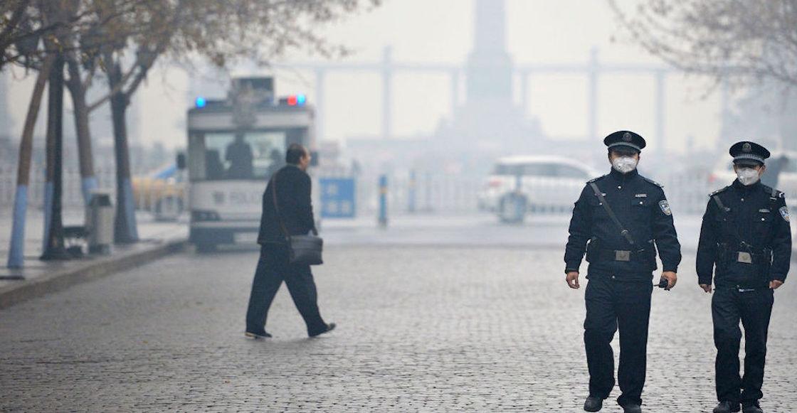 Coronavirus polluting China's air quality