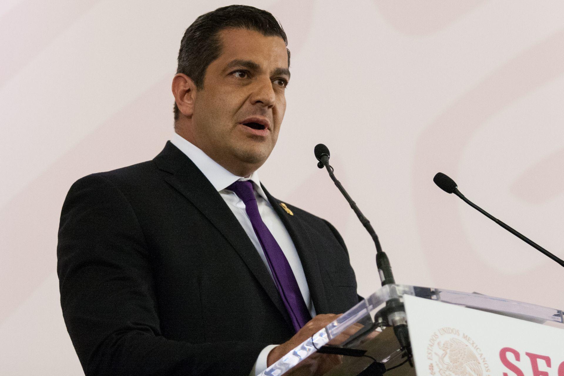 Ricardo Peralta, subsecretario de Gobernacion, dio positivo a coronavirus
