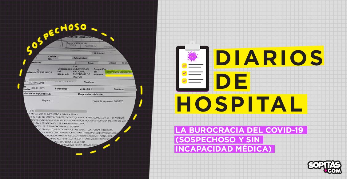 diarios-de-hospital-sospechoso-enfermero-issste-incapacidad-burocracia-covid-coronavirus