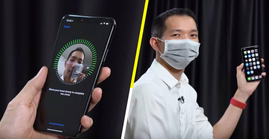 Apple hace cambios al Face ID, para que desbloquees tu iPhone con todo y tapabocas