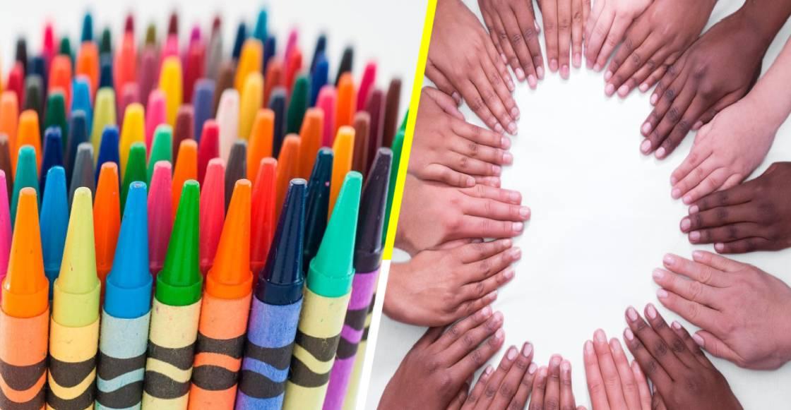 'Crayola' lanza una nueva línea con 40 colores de piel, para promover la inclusión