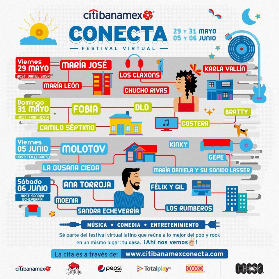festival citibanamex conecta búfalo actos imperdibles