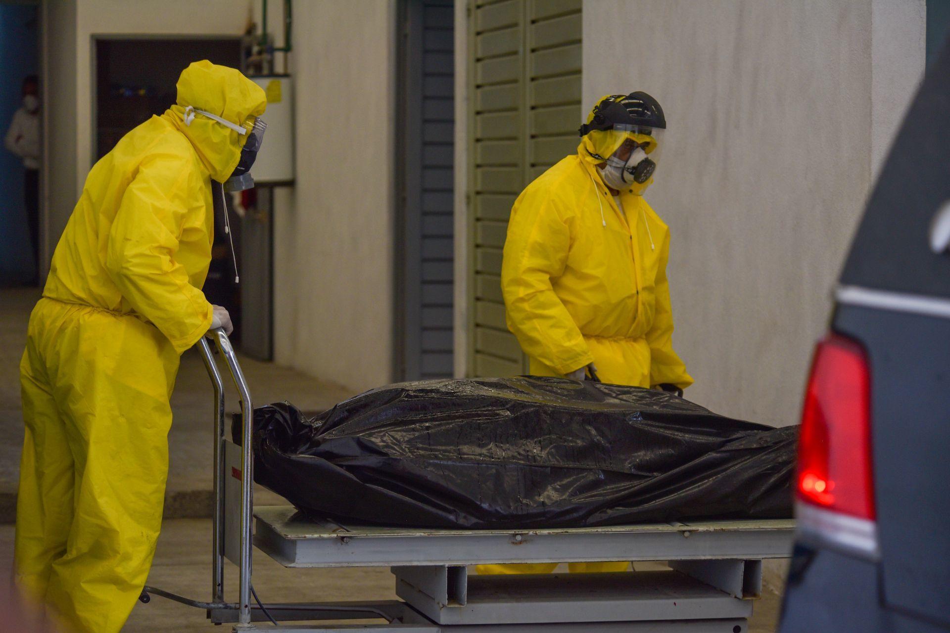 Funerarias, muertes por COVID-19