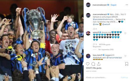 La venganza de Zlatan contra Materazzi que tardó 4 años en cumplir