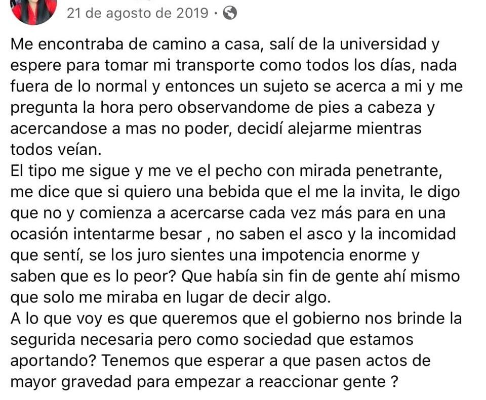 mensaje de Diana, #JusticiaParaDiana