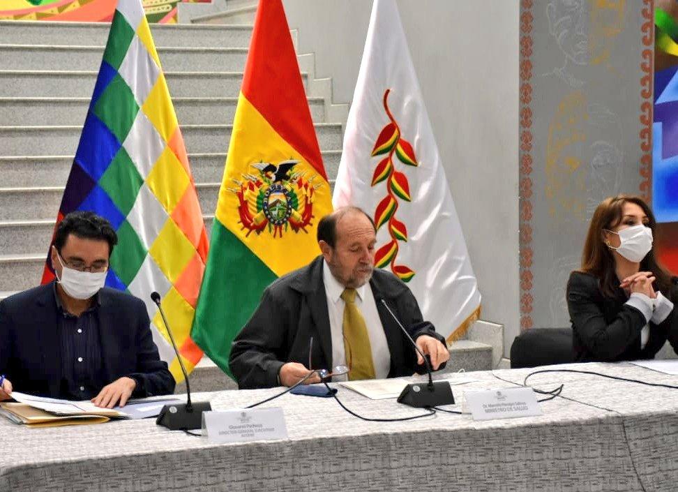 Marcelo Navajas, exministro de Salud de Bolivia