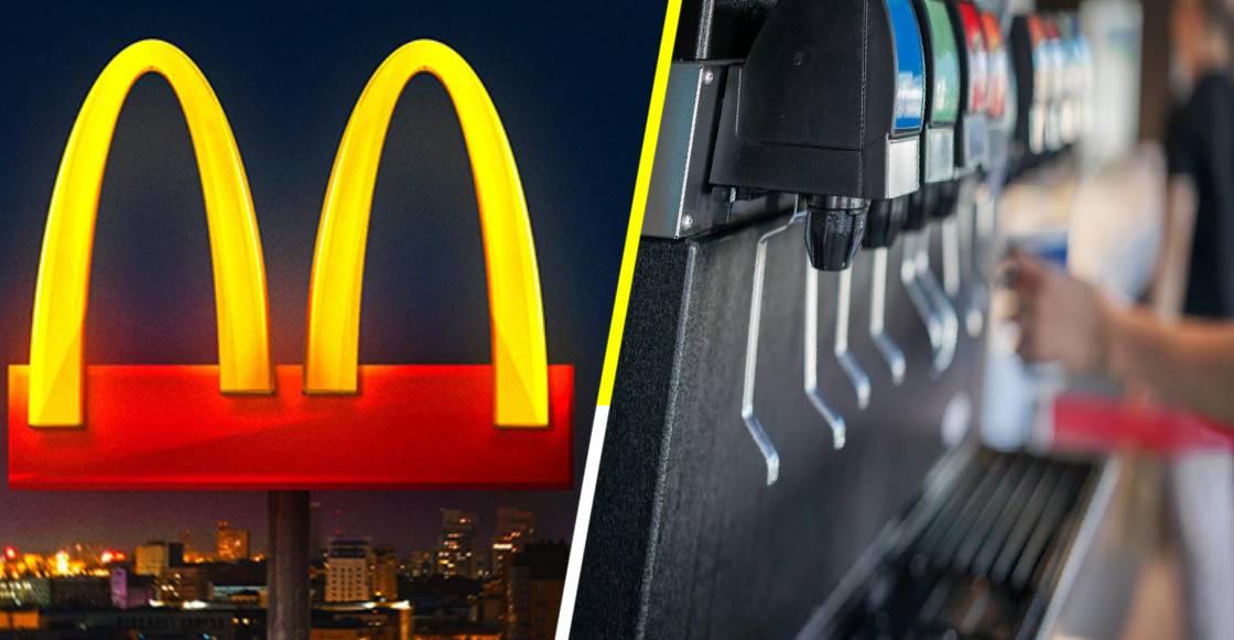 Adiós al 'refill', McDonald's restringe su fuente de sodas por la pandemia