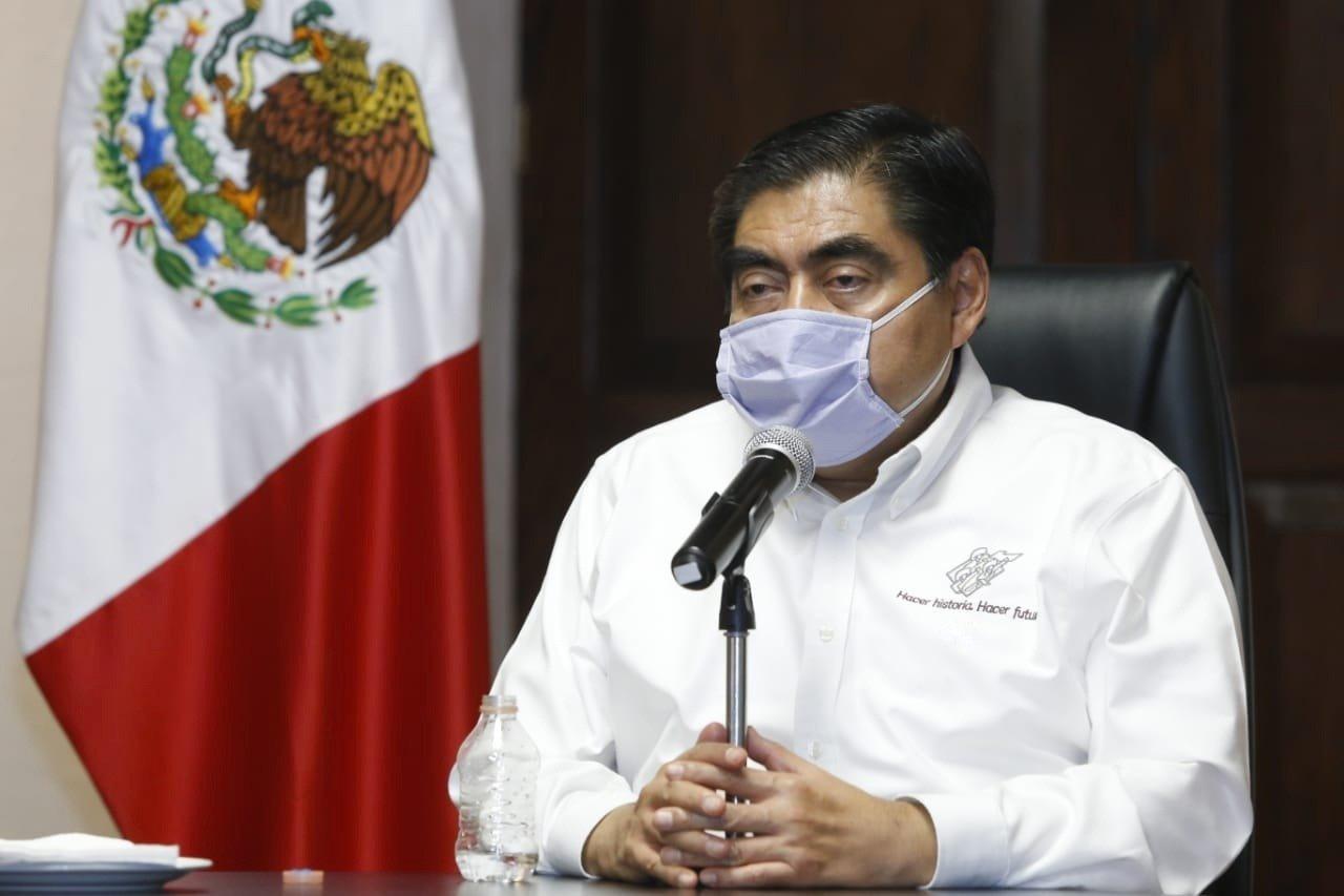 Miguel Barbosa, gober de Puebla