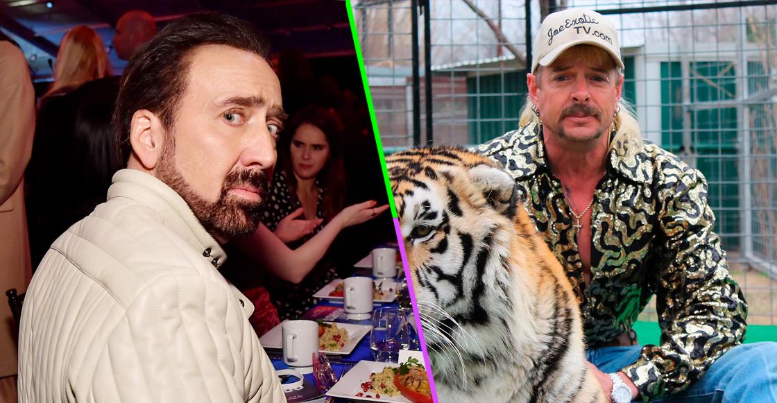 'Put... the tiger... back... in the box!' Nicolas Cage dará vida a Joe Exotic de 'Tiger King' para una serie