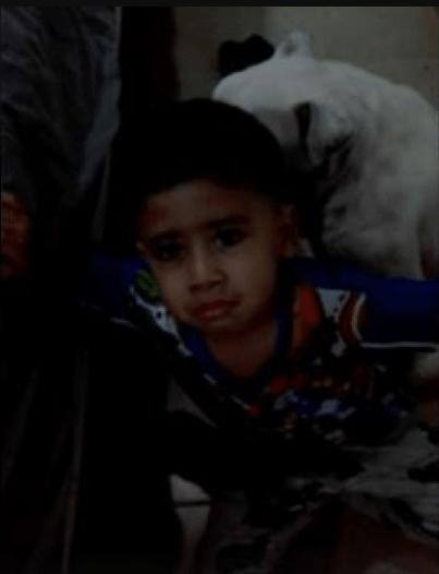Amor incondicional: Niño protege a perrito para que su mamá no le pegue