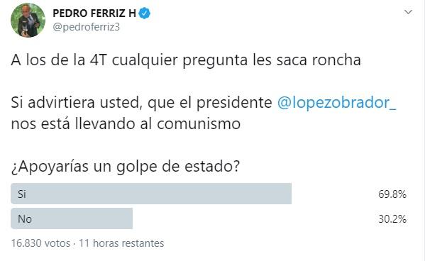 encuesta de Pedro Ferriz