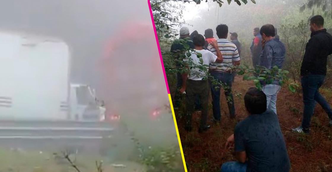 Hombres armados asaltan a vehículos en autopista Puebla-Veracruz