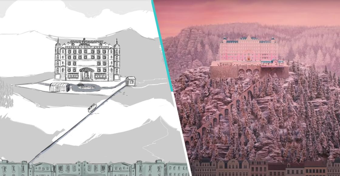Qué maravilla: Wes Anderson narra el storyboard animado de 'The Grand Budapest Hotel'