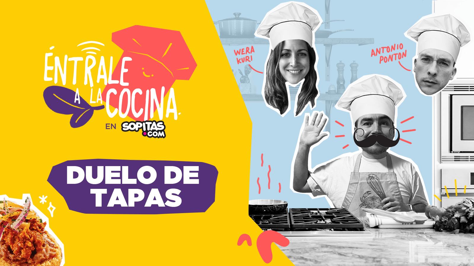 Destacada entrale a la cocina sopitas wera kuri ponton tapas españolas