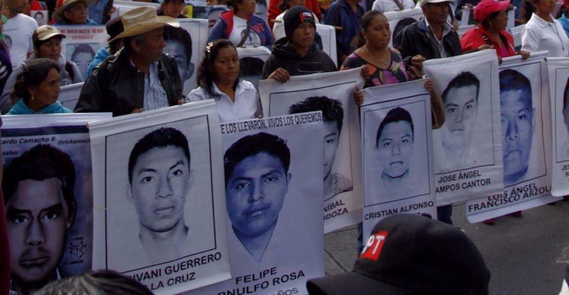 desaparición 43 ayotzinapa