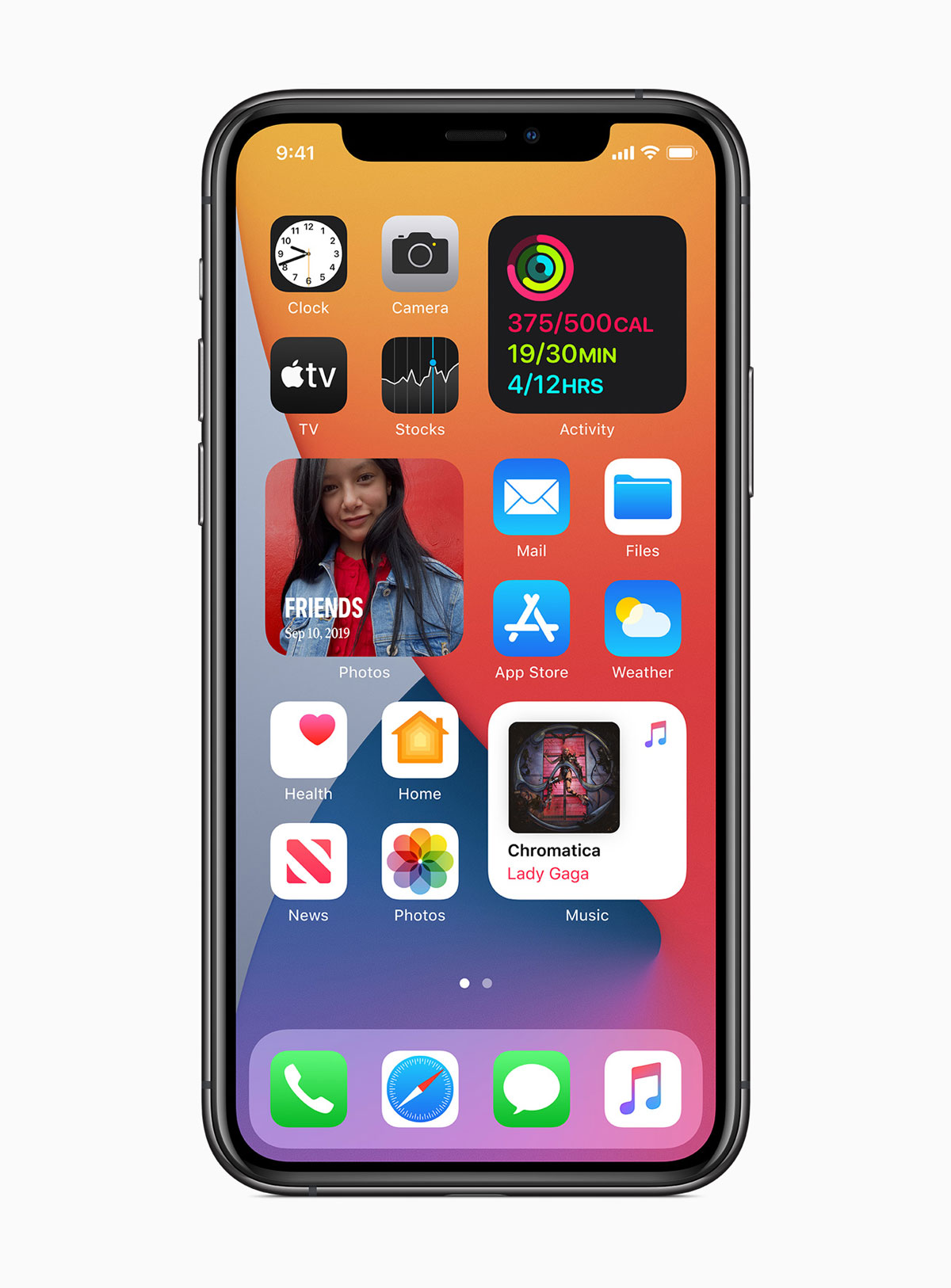 Los Widgets llegarán al iPhone en el iOS14