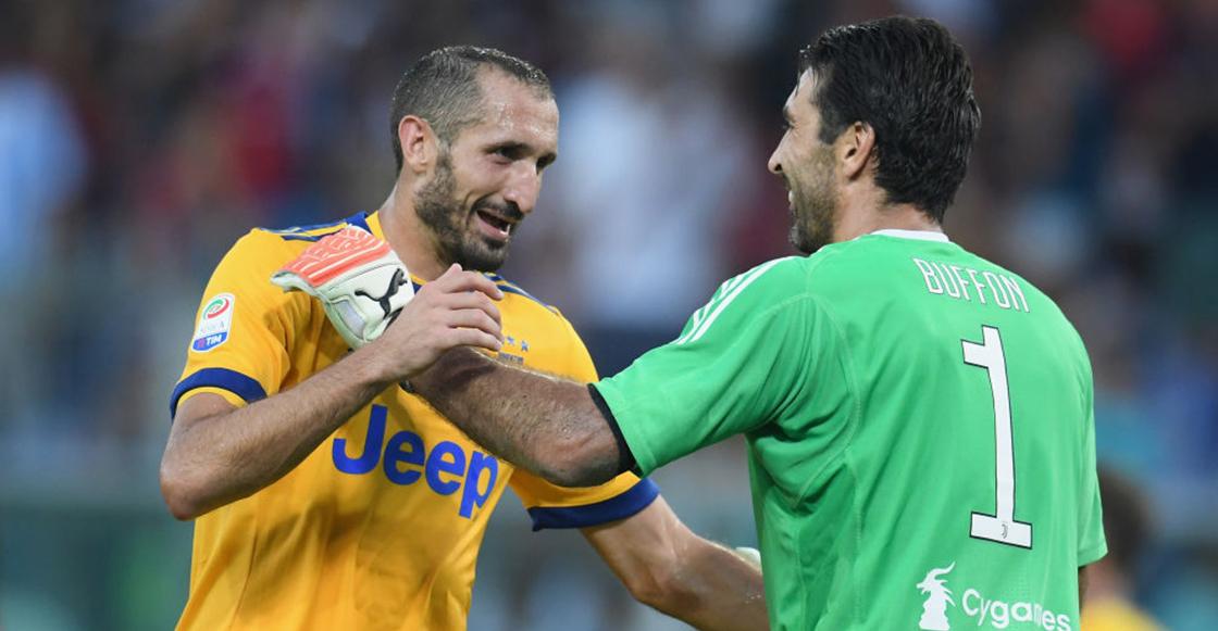 ¡Eternos! Buffon y Chiellini renovaron su contrato con la Juventus