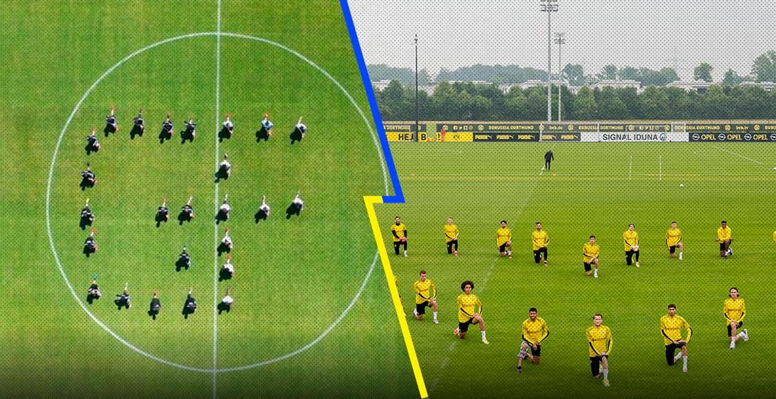 Black Lives Matter: El poderoso mensaje de Borussia Dortmund y Besiktas contra el racismo
