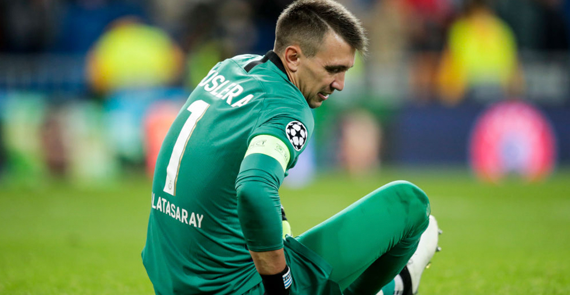 Adiós temporada: Galatasaray confirmó fractura de tibia y peroné de Fernando Muslera