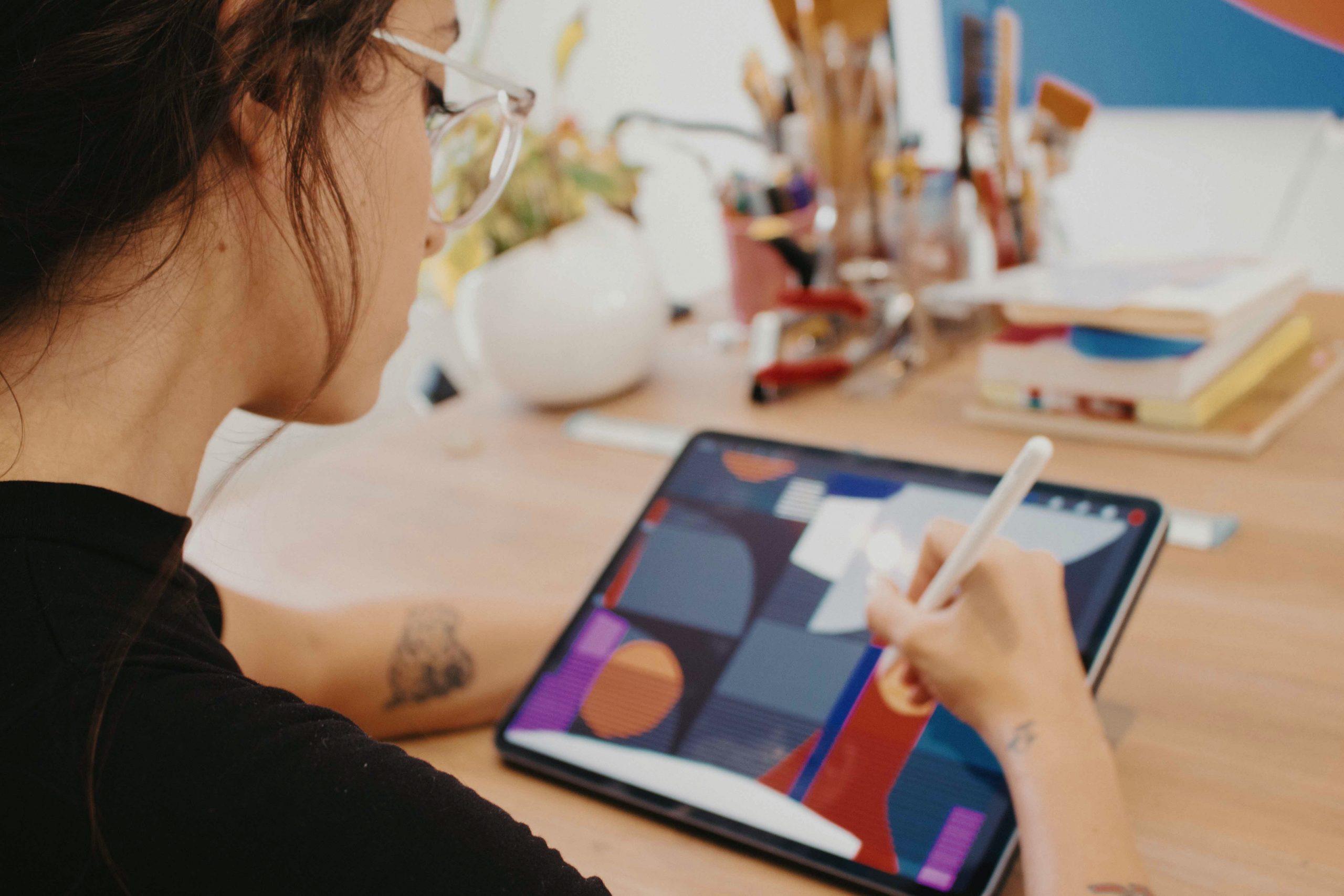 Murales con Eco combina el arte con la tecnología a través del iPad / Foto: Cortesia
